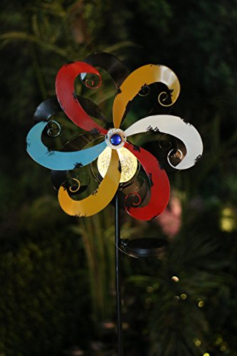 Alpine-Corporation-YCC212SLR-Solar-Metal-Windmill-with-Ball-Multicolor-0-1