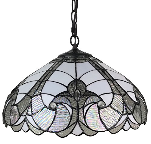 Amora-Lighting-AM297HL16-Tiffany-Style-White-Hanging-Lamp-16-Inches-Wide-16-0-0