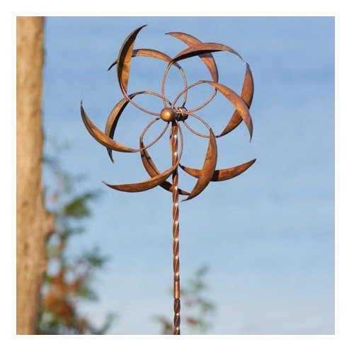 Ancient-Graffiti-15-Inch-Staked-Feather-Kinetic-Spinner-Large-0-0