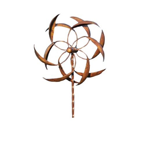 Ancient-Graffiti-15-Inch-Staked-Feather-Kinetic-Spinner-Large-0