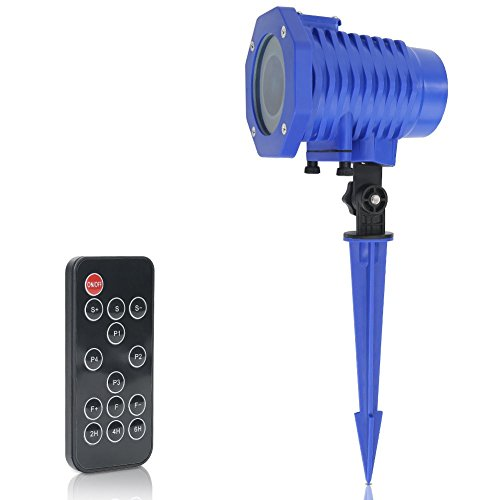 Animated-Projector-Lights-Waterproof-IP65Wireless-Remote-Control-Movie-Show-Projector-lampAuto-Timer-SpeedFlash-AdjustmentBest-Gifts-for-Christmas-Halloween-Holiday-Party-New-Year-0