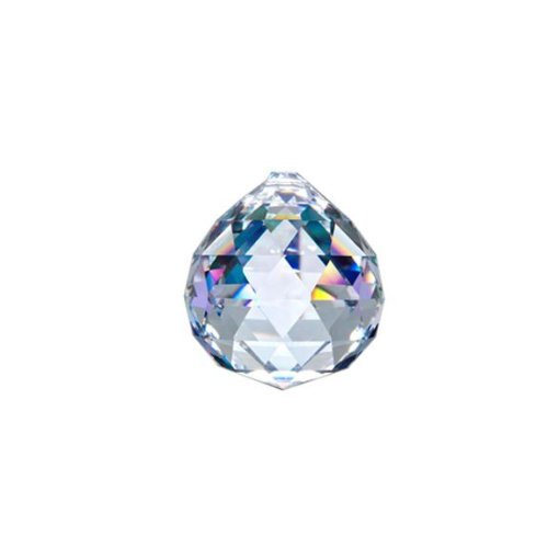 Asfour-Crystal-701-Clear-Crystal-Ball-Prism-40-mm-1-Hole-Box-of-40-Pieces-0