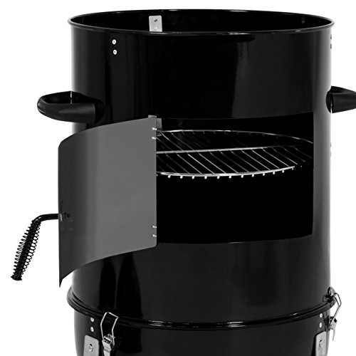 Best-Choice-Products-43in-3-Piece-Outdoor-BBQ-Charcoal-Vertical-Design-Smoker-Black-0-2