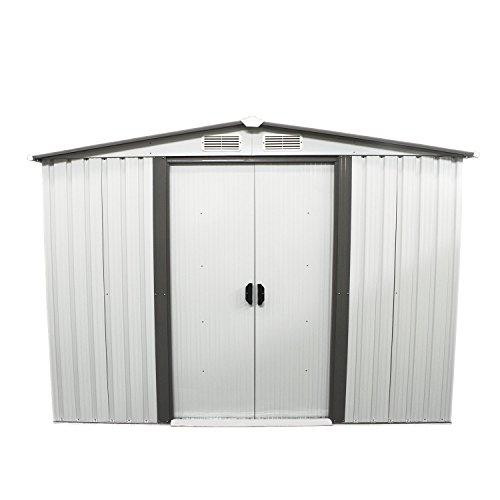 Bestmart-INC-New-6-x-8-Outdoor-Steel-Garden-Storage-Utility-Tool-Shed-Backyard-Lawn-Building-Garage-with-Sliding-Door-0