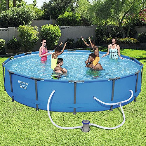 Bestway-56597E-Steel-Pro-MAX-Above-Ground-Pool-Blue-0