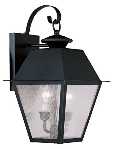 Black-Mansfield-Medium-Outdoor-Wall-Sconce-With-2-Lights-0