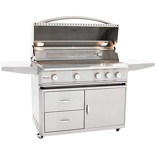 Blaze-44-inch-Professional-Grill-with-Rear-Infrared-Burner-BLZ-4PRO-LP-BLZ-4PRO-CART-Propane-Gas-0-0