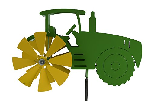 Blue-Luca-Inc-Tractor-Wind-Spinner-for-Yard-and-Garden-Powder-Coat-Finish-Made-in-USA-0