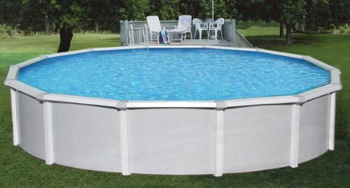 Blue-Wave-NB1646-30-Round-52-Samoan-Steel-Pool-With-8-Toprail-in-0