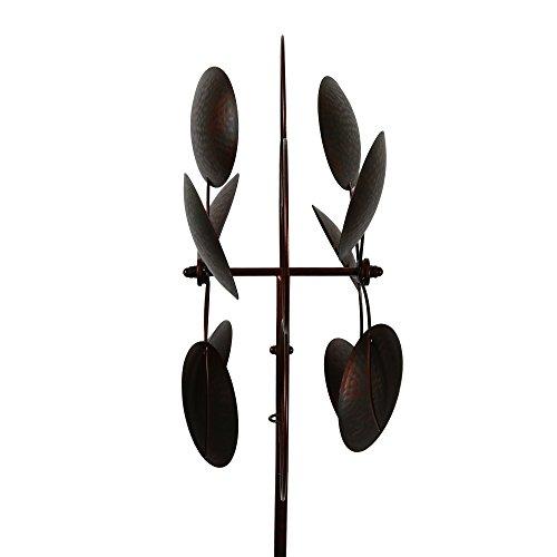 Bronzed-Inverse-Circles-Wind-Garden-Spinner-0-1