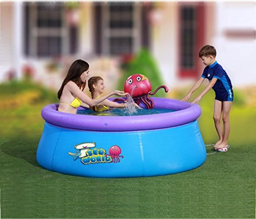 By-PoolCentral-69-x-245-Inflatable-Spraying-Octopus-Above-Ground-Swimming-Pool-0-0