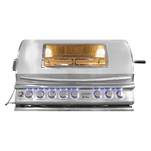 Cal-Flame-Top-Gun-5-Burner-Convection-Grill-0