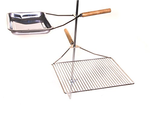 Camp-Chef-Lumberjack-Over-Fire-Stake-Camp-Grill-Stainless-Steel-0