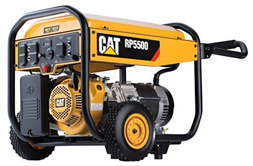 Cat-RP5500-5500-Running-Watts-and-6875-Starting-Watts-Gas-powered-Portable-Generator-0