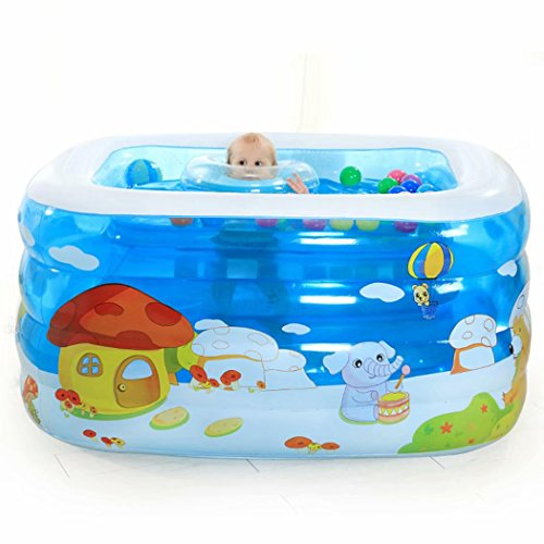 Childrens-Pool-Family-Square-Inflatable-Pool-Childrens-Paddling-Pool-0-0