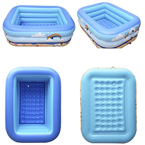 Childrens-PoolScrub-Baby-Folding-PoolChildrens-Bath-TubInflatable-Swim-Pool-0-1