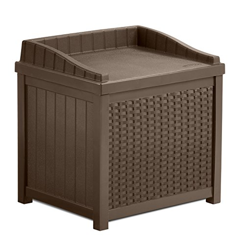 Cosmic-Furniture-Contemporary-Wicker-Design-Patio-Outdoor-Resin-Small-Storage-Seat-Deck-Box-with-Sturdy-Resin-Construction-and-Hassle-Free-Maintenance-in-Mocha-Brown-0-0