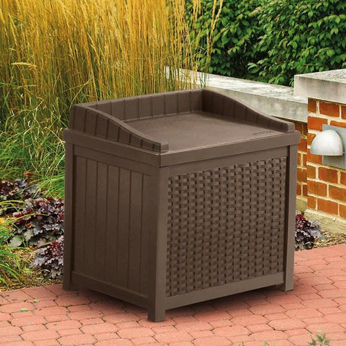 Cosmic-Furniture-Contemporary-Wicker-Design-Patio-Outdoor-Resin-Small-Storage-Seat-Deck-Box-with-Sturdy-Resin-Construction-and-Hassle-Free-Maintenance-in-Mocha-Brown-0