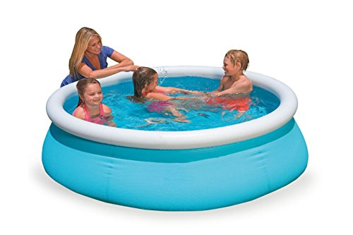 DMGF-Inflatable-Easy-Set-Pool-Family-Play-Pool-Summer-Water-Fun-Lounge-Padding-Pool-Above-Ground-Swim-Center-With-Electric-Air-Pump-60X15inGreen1-0-2
