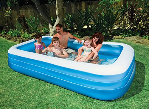 DMGF-Inflatable-Pool-Family-Swim-Center-Rectangular-Pool-With-Electric-Air-Pump-Summer-Padding-Play-Pool-For-Adult-Kid-Children-30518356CM-Blue-0-0