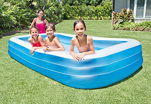 DMGF-Inflatable-Pool-Family-Swim-Center-Rectangular-Pool-With-Electric-Air-Pump-Summer-Padding-Play-Pool-For-Adult-Kid-Children-30518356CM-Blue-0-1