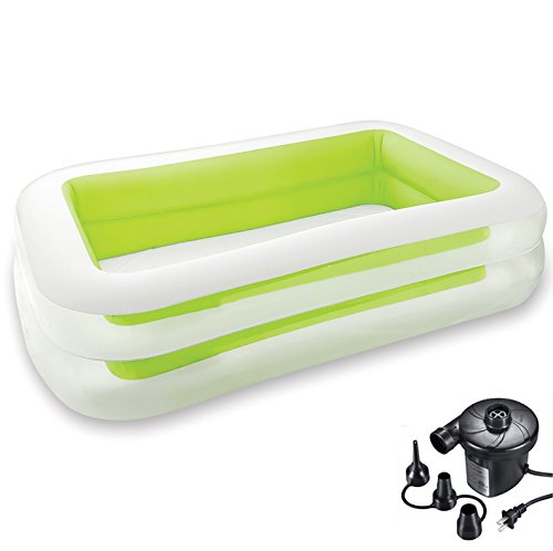 DMGF-Inflatable-Pool-Family-Swim-Center-With-Electric-Air-Pump-Summer-Adult-Kid-Padding-Play-Pool-Rectangular-Garden-Wave-Above-Ground-Pools103-X-69-X22-0