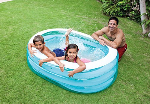 DMGF-Inflatable-Pool-For-Kids-Family-Swim-Center-Rectangular-Thicken-Pool-Summer-Baby-Children-Paddling-Pool-163X107x46cm-For-Ages-3-0-1
