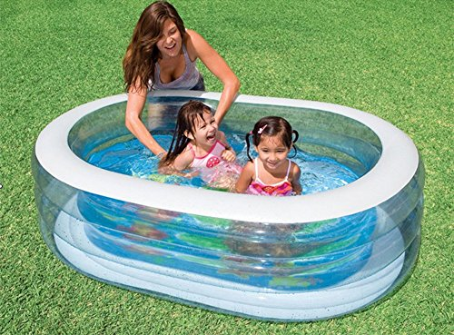 DMGF-Inflatable-Pool-For-Kids-Family-Swim-Center-Rectangular-Thicken-Pool-Summer-Baby-Children-Paddling-Pool-163X107x46cm-For-Ages-3-0-2