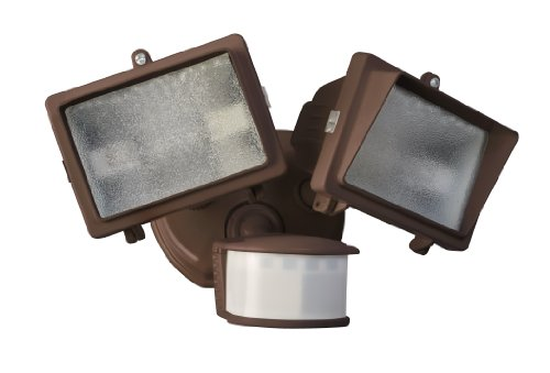 Designers-Edge-L6008BR-270-Degree-Diecast-Metal-Twin-Head-Motion-Activated-Security-Flood-Light-with-Bulb-Bronze-300-watt-0