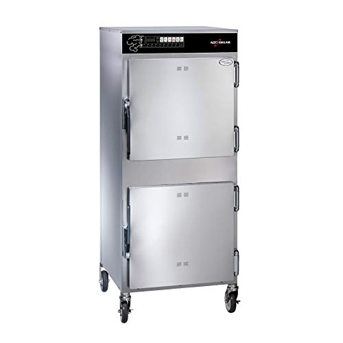Ecosmart-Double-Compartment-Cook-and-Hold-Smoker-Oven-0