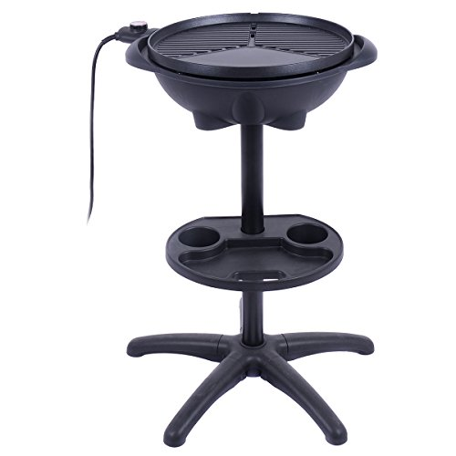 Electric-BBQ-Grill-1350W-Non-stick-4-Temperature-Setting-Outdoor-Garden-Camping-0-0