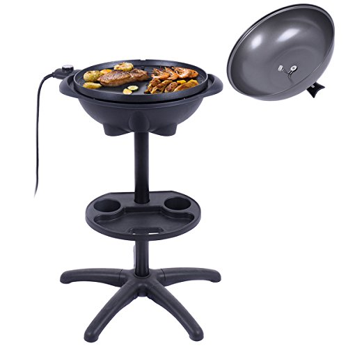 Electric-BBQ-Grill-1350W-Non-stick-4-Temperature-Setting-Outdoor-Garden-Camping-0-1