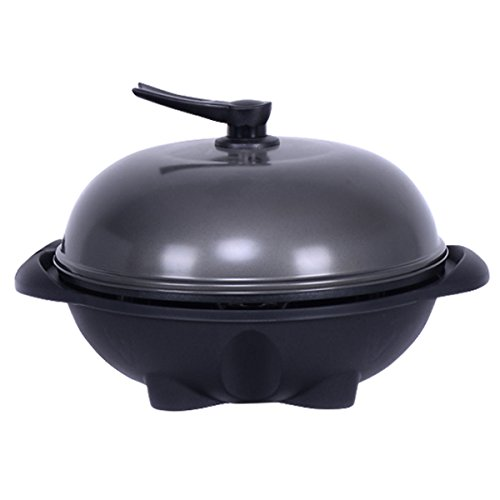 Electric-BBQ-Grill-1350W-Non-stick-4-Temperature-Setting-Outdoor-Garden-Camping-0-2
