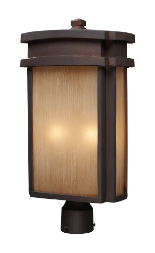 Elk-421442-2-Light-Outdoor-Post-Light-In-Clay-Bronze-0