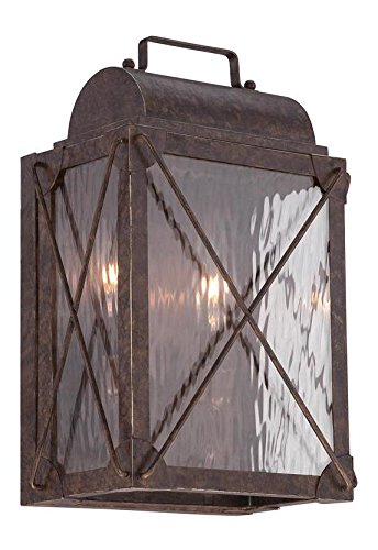 Etruscan-Bronze-Colfax-2-Light-Outdoor-Flush-Mount-Wall-Sconce-0