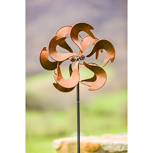 Evergreen-Contained-Energy-Outdoor-Safe-Kinetic-Wind-Spinning-Topper-Pole-Sold-Separately-0-1