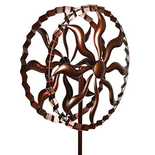 Fire-Wheel-Style-Kinetic-Wind-Garden-Spinner-0-0