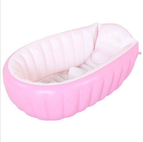 GONGFF-Baby-Inflatable-Bath-Baby-Tub-Large-Thickened-Newborn-Children-Can-Lie-Folded-Portable-Bath-Basin-0-0