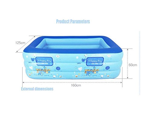 GONGFF-Childrens-Pool-Swimming-Inflatable-Marine-Ball-1-3-Years-Old-Thickened-Adult-Family-Home-Oversized-Water-Park-0-0