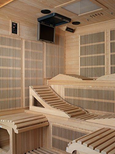 Golden-Designs-Monaco-6-person-Near-Zero-EMF-Far-Infrared-Sauna-Canadian-Hemlock-0-2