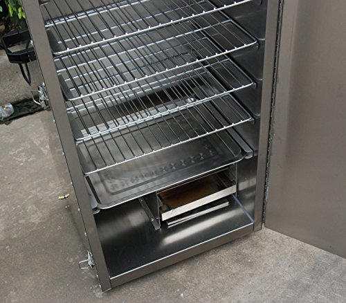 Hakka-Electric-Stainless-Steel-Smoker-Barbecue-BBQ-Grill-Cooker-Outdoor-0-2