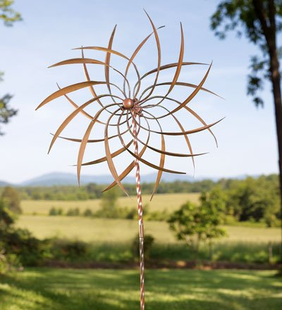 Handcrafted-Copper-Pinwheel-0