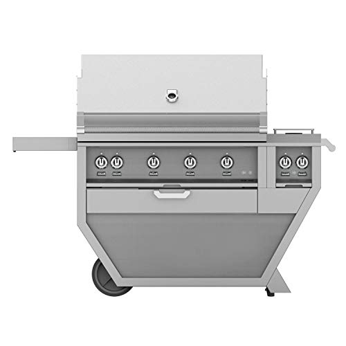 Hestan-Deluxe-42-inch-Propane-Gas-Grill-WAll-Infrared-Burners-Rotisserie-Double-Side-Burner-Steeletto-Gsbr42cx2-lp-ss-0