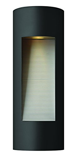 Hinkley-1660SK-Contemporary-Modern-Two-Light-Wall-Mount-from-Luna-collection-in-Blackfinish-0