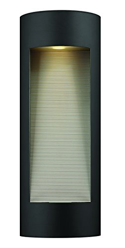 Hinkley-1664SK-LED-Contemporary-Modern-Two-Light-Wall-Mount-from-Luna-collection-in-Blackfinish-0