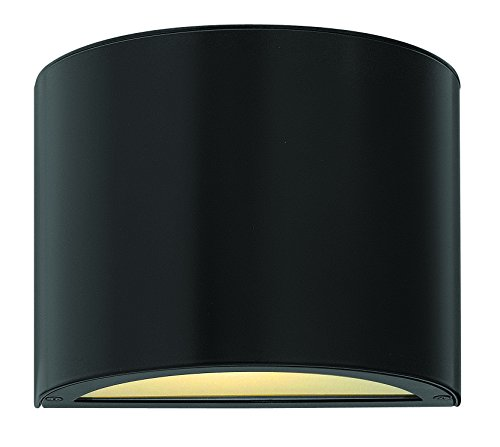 Hinkley-1666SK-LED-Transitional-One-Light-Wall-Mount-from-Luna-collection-in-Blackfinish-0