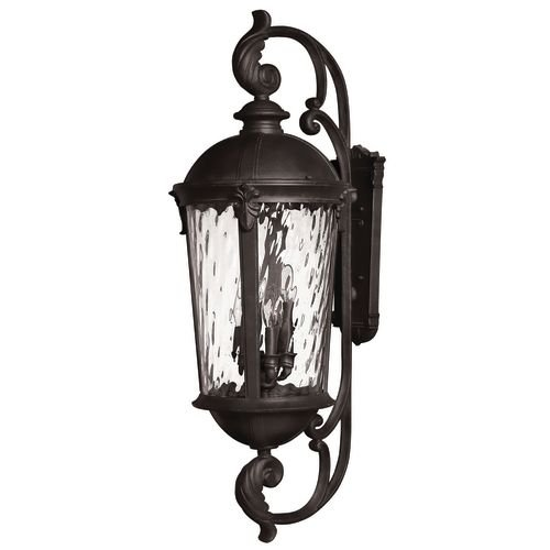 Hinkley-1929BK-LED-Traditional-Two-Light-Wall-Mount-from-Windsor-collection-in-Blackfinish-0