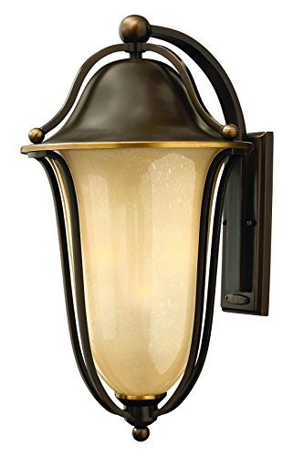 Hinkley-2639OB-LED-Traditional-Two-Light-Wall-Mount-from-Bolla-collection-in-BronzeDarkfinish-0