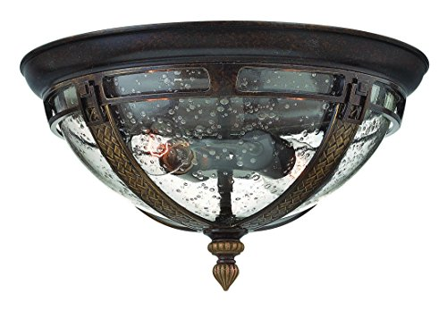 Hinkley-2903RB-Traditional-Two-Light-Flush-Mount-from-Key-West-Collection-in-BronzeDarkfinish-0