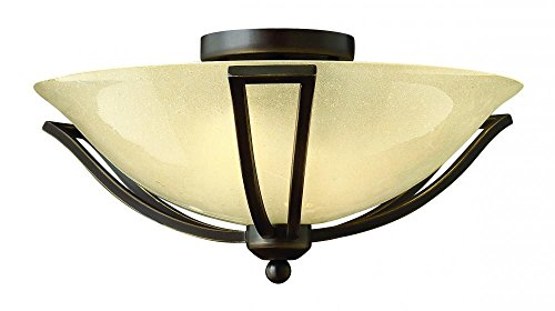 Hinkley-4660OB-LED-Transitional-One-Light-Flush-Mount-from-Bolla-collection-in-BronzeDarkfinish-0